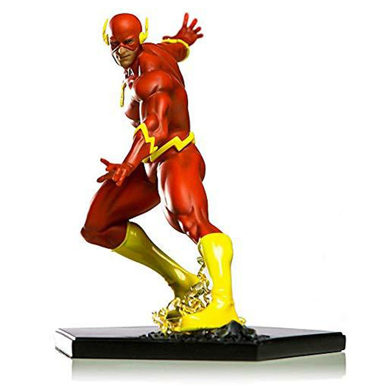 "Iron Studios The Flash 6.2"" 1/10 DC Comics x Iron Studios Art Scale Statue Figurine"