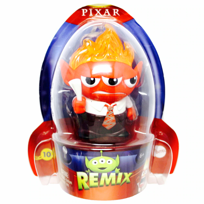 Disney / Pixar Toy Story Alien Remix Series 2 Rage 3-Inch Mini Figure #10 Mattel