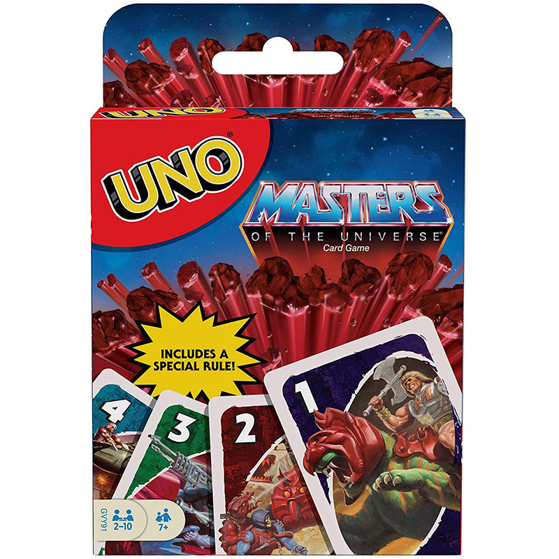 UNO Card Game Masters of The Universe Edition
