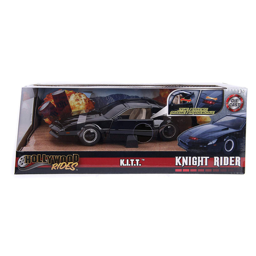 Jada Toys Hollywood Rides Knight Rider KITT, 1: 24 Scale Die-Cast Car