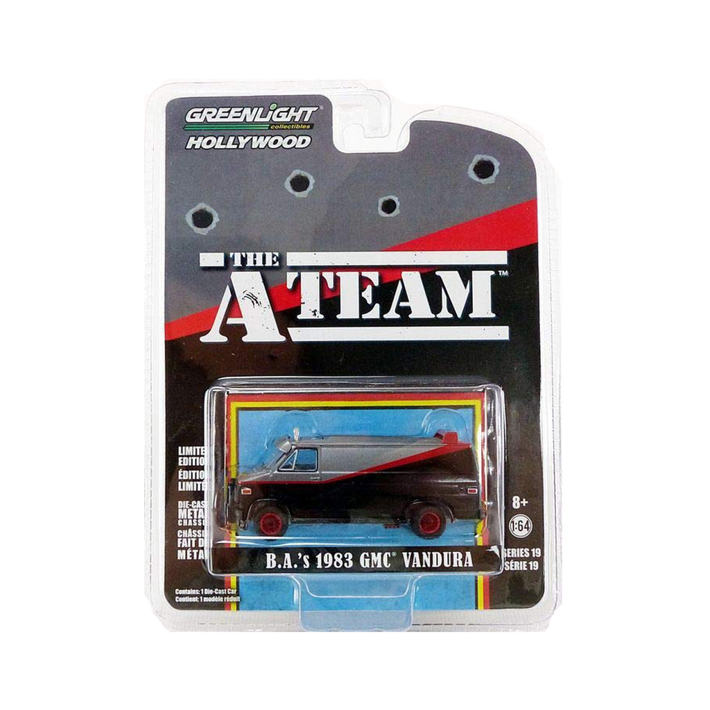 1983 GMC Vandura - The A-Team (1983-87, TV Series) Hollywood Series 19, Authentic Decoration, Custom Themed Packaging