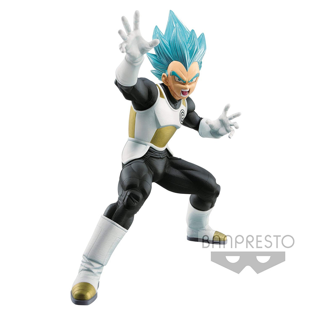 Banpresto - Figurine DBZ - Vegeta Blue Super Dragonball Heroes Transcendence Art Vol 2