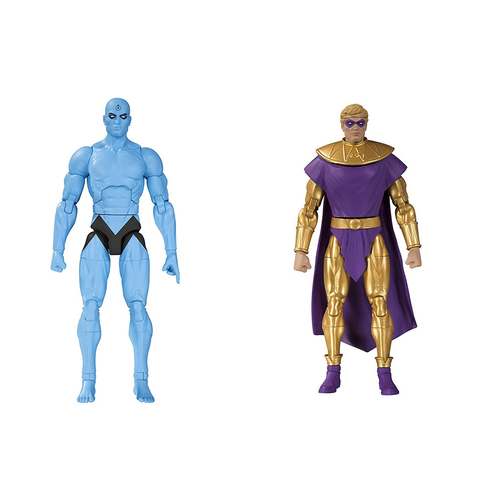 DC Collectibles Doomsday Clock: Dr. Manhattan/Ozymandias Action Figure 2-Pack