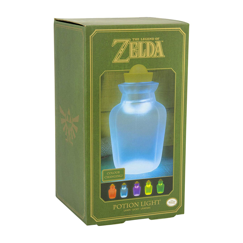 Paladone Legend of Zelda Officially Licensed Merchandise - Potion Bottle Color Changing Light