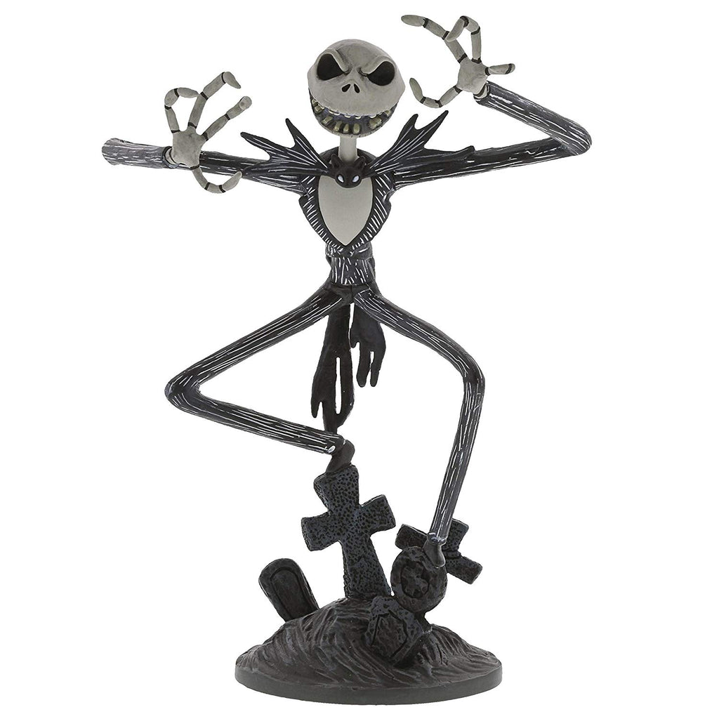 Enesco Disney -Nightmare Before Christmas: Jack Skellington Vinyl Figurine, 8.5 Inch, Multicolor