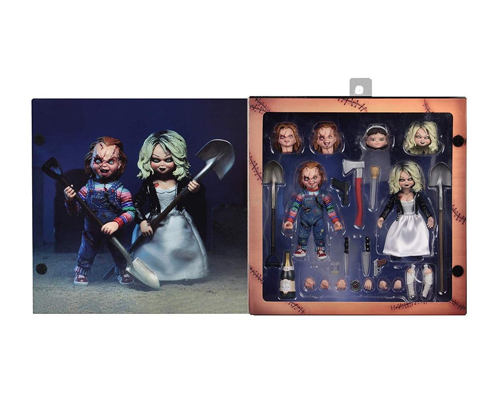 Bride of Chucky -  Action Figure - Ultimate Chucky & Tiffany 2-Pack