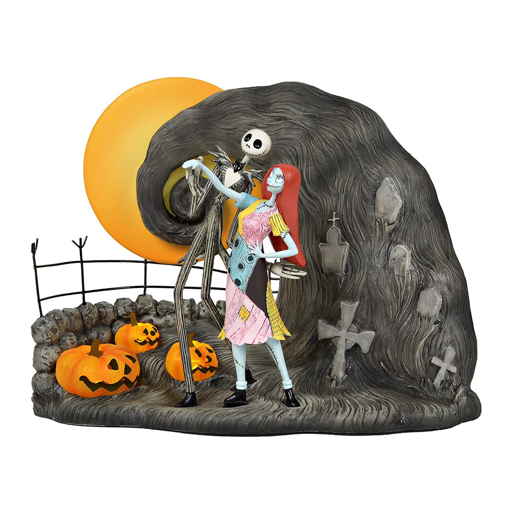 "Disney Classic Brands Nightmare Before Christmas Jack and Sally, 7.75"" Figurine, Multicolor"