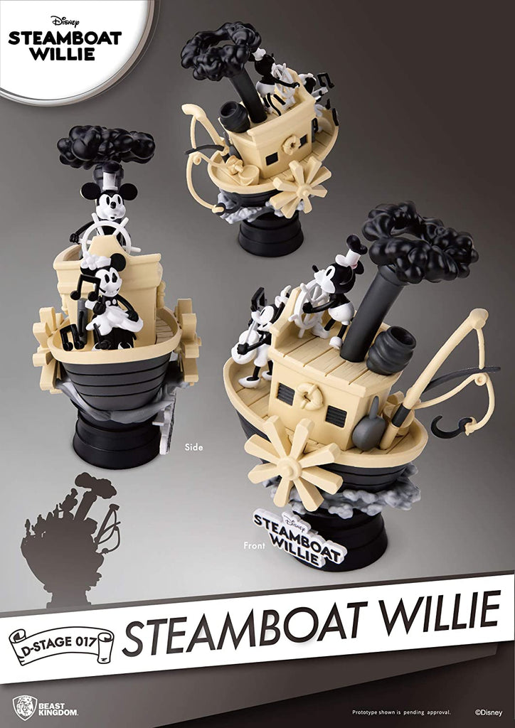 Beast Kingdom Steamboat Willie D-Stage Series Statue