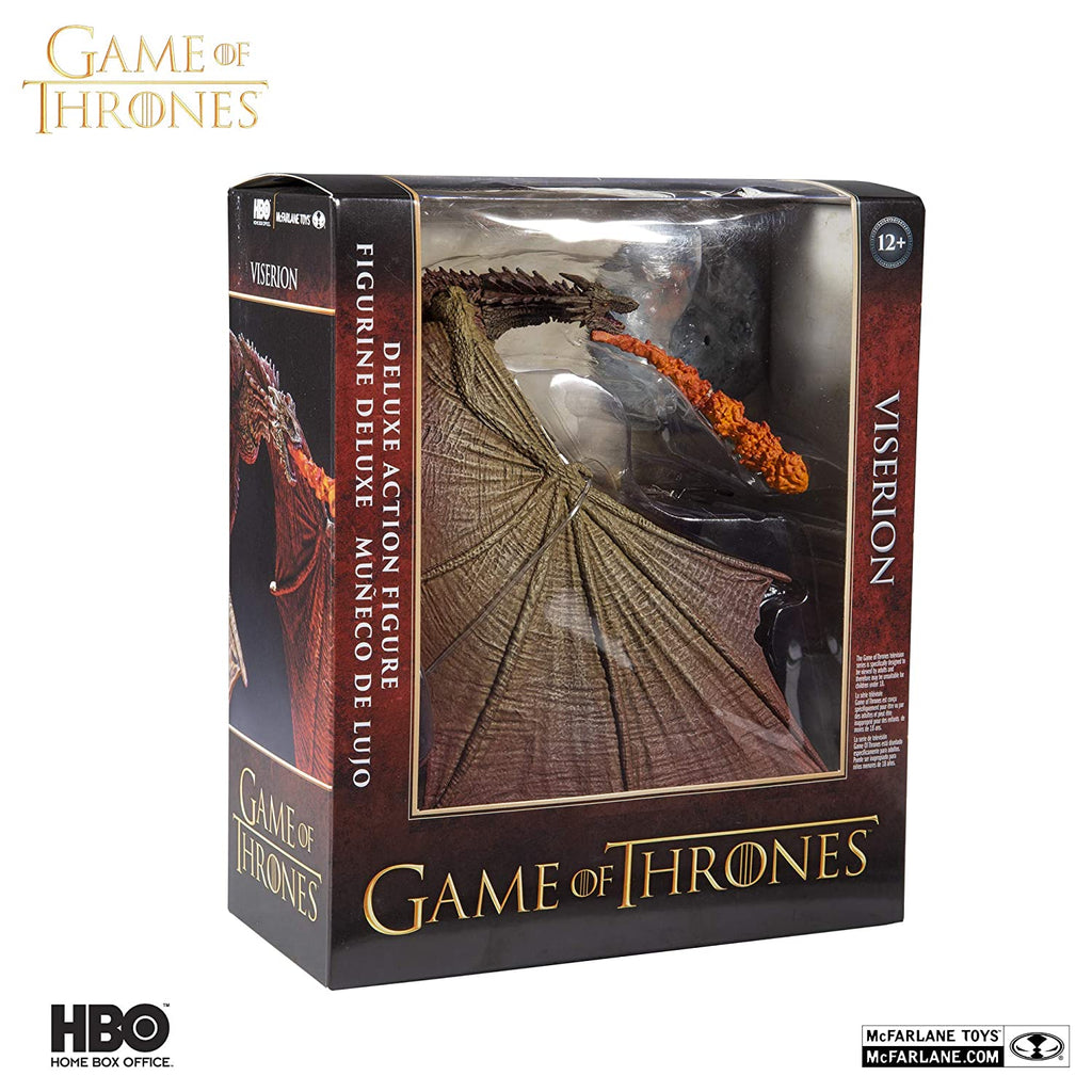 McFarlane Toys Game of Thrones Viserion 2 Deluxe Box