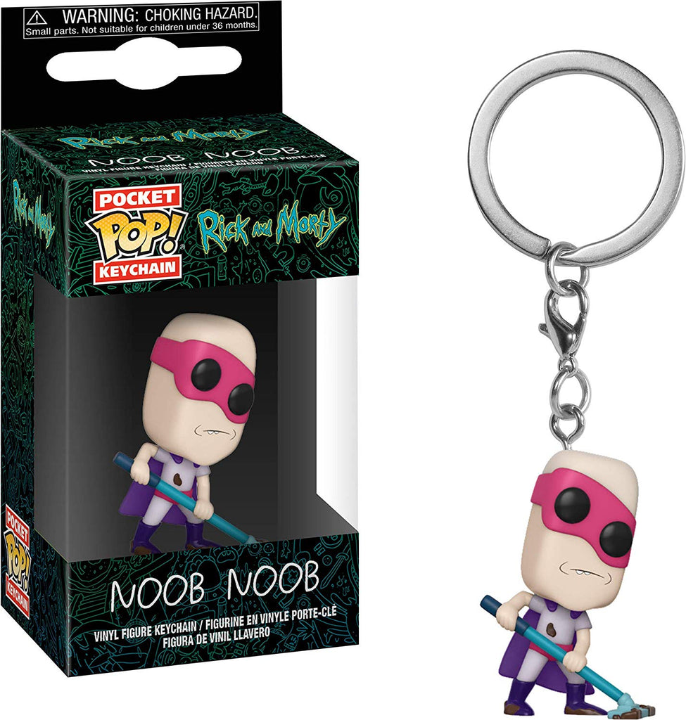 Funko POP! Keychain: Rick and Morty - Noob - Noob