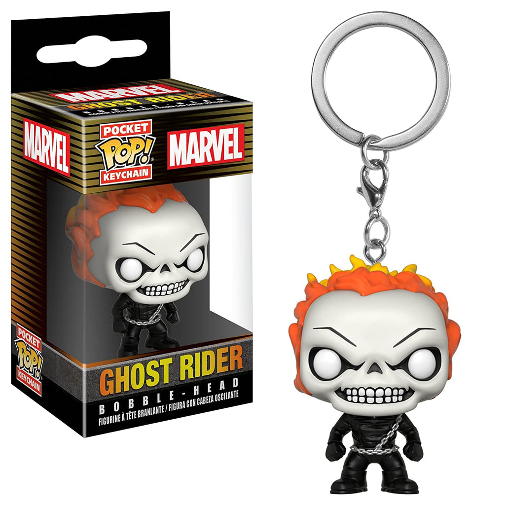 Funko Marvel Ghostrider Pop Keychain