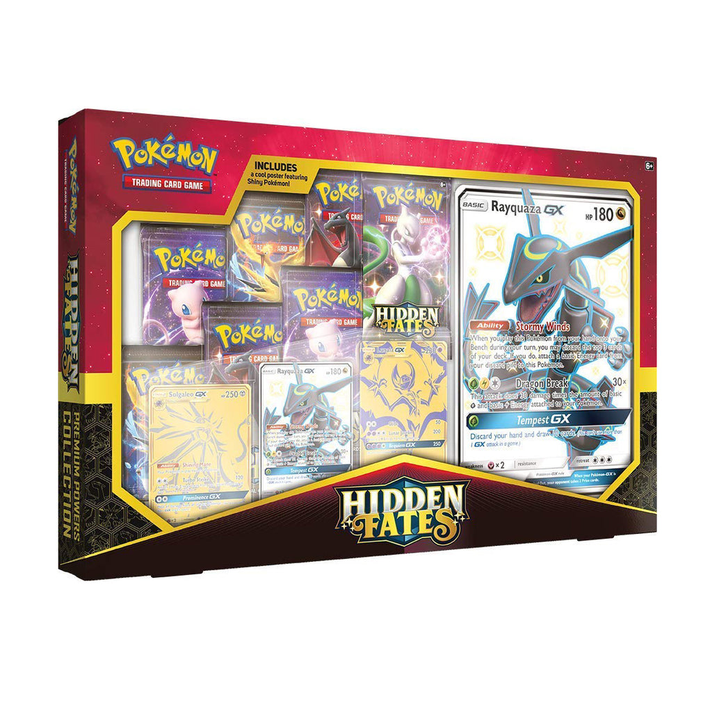Pokemon TCG: Hidden Fates Premium Powers Collection | 7 Hidden Fates Booster Packs