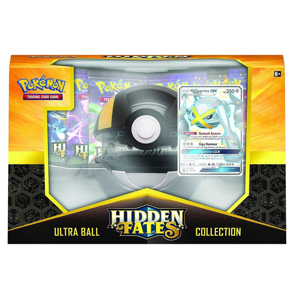 "Pokémon TCG: Hidden Fates Poké Ball ""Ultra Ball"" Collection (Metagross Edition)"