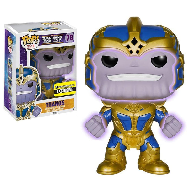 Funko POP! #78 Guardians of The Galaxy Thanos Pop! Glow in The Dark