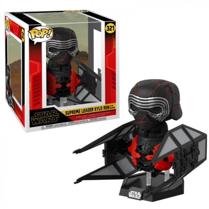 Funko Pop! Deluxe Star Wars #321: Episode 9, Rise of Skywalker - Supreme Leader Kylo Ren in The Whisper