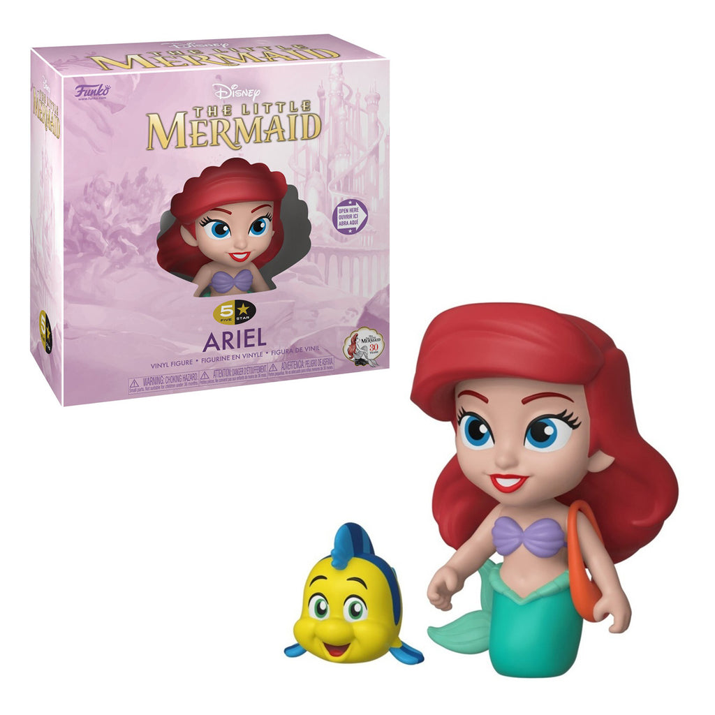 Funko 5 Star -Disney: The Little Mermeid: Ariel with flaunder