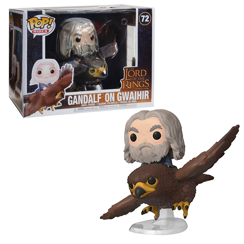 Funko POP Rides: Lord of The Rings-Gwaihir with Gandalf Hobbit