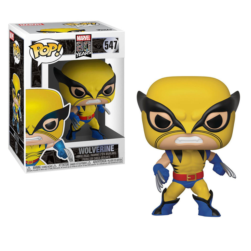 Funko POP! Marvel: Marvel 80 years- Wolverine