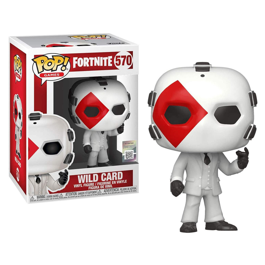 Funko Pop! Games #570: Fortnite - Wild Card (Diamond)