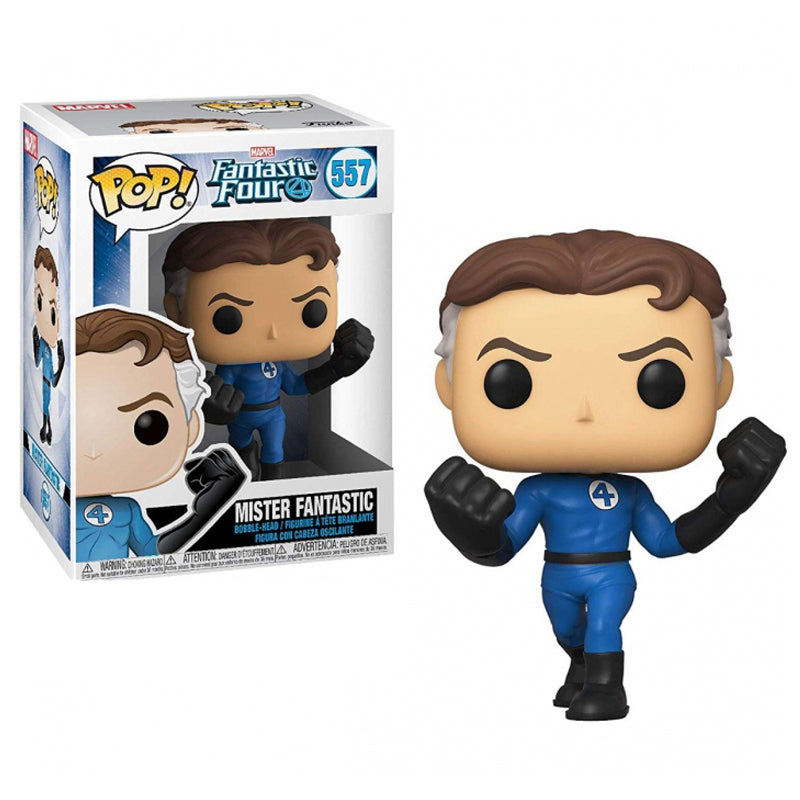 Funko Pop Marvel #557 Fantastic Four - Mister Fantastic