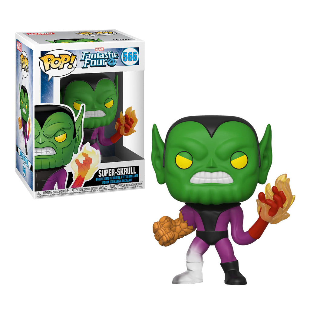 Funko Pop Marvel #566 Fantastic Four - Super Skrull
