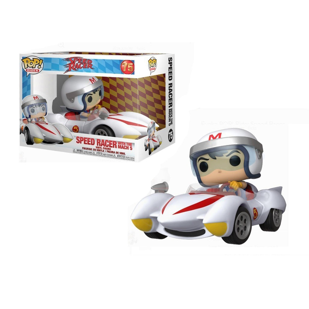 Funko Pop! Rides #75: Speed Racer - Speed Racer with The Mach 5