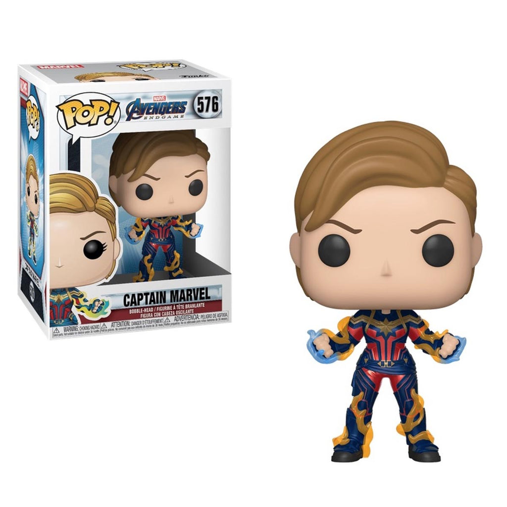 Funko Pop! Marvel: Avengers Endgame - Captain Marvel with New Hair