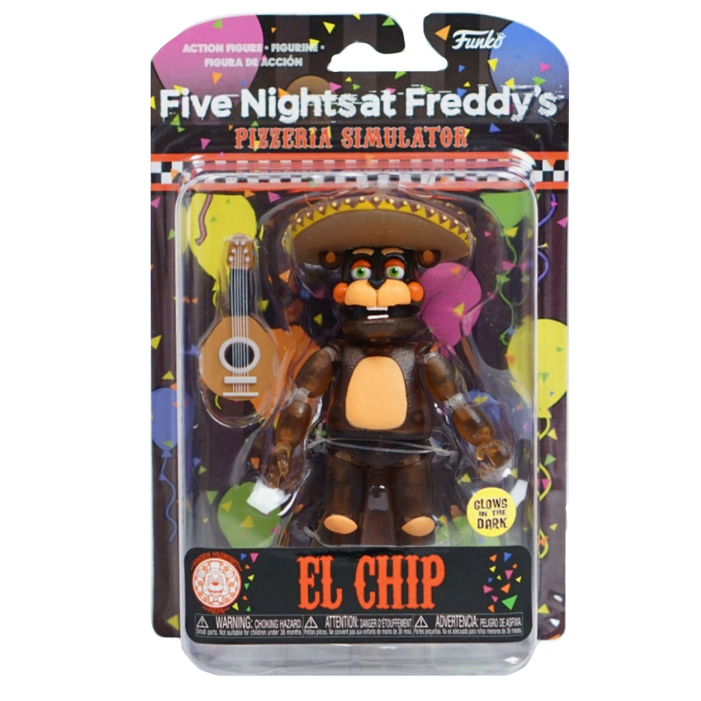 Funko Action Figures: Five Nights at Freddy's Pizza Simulator - El Chip