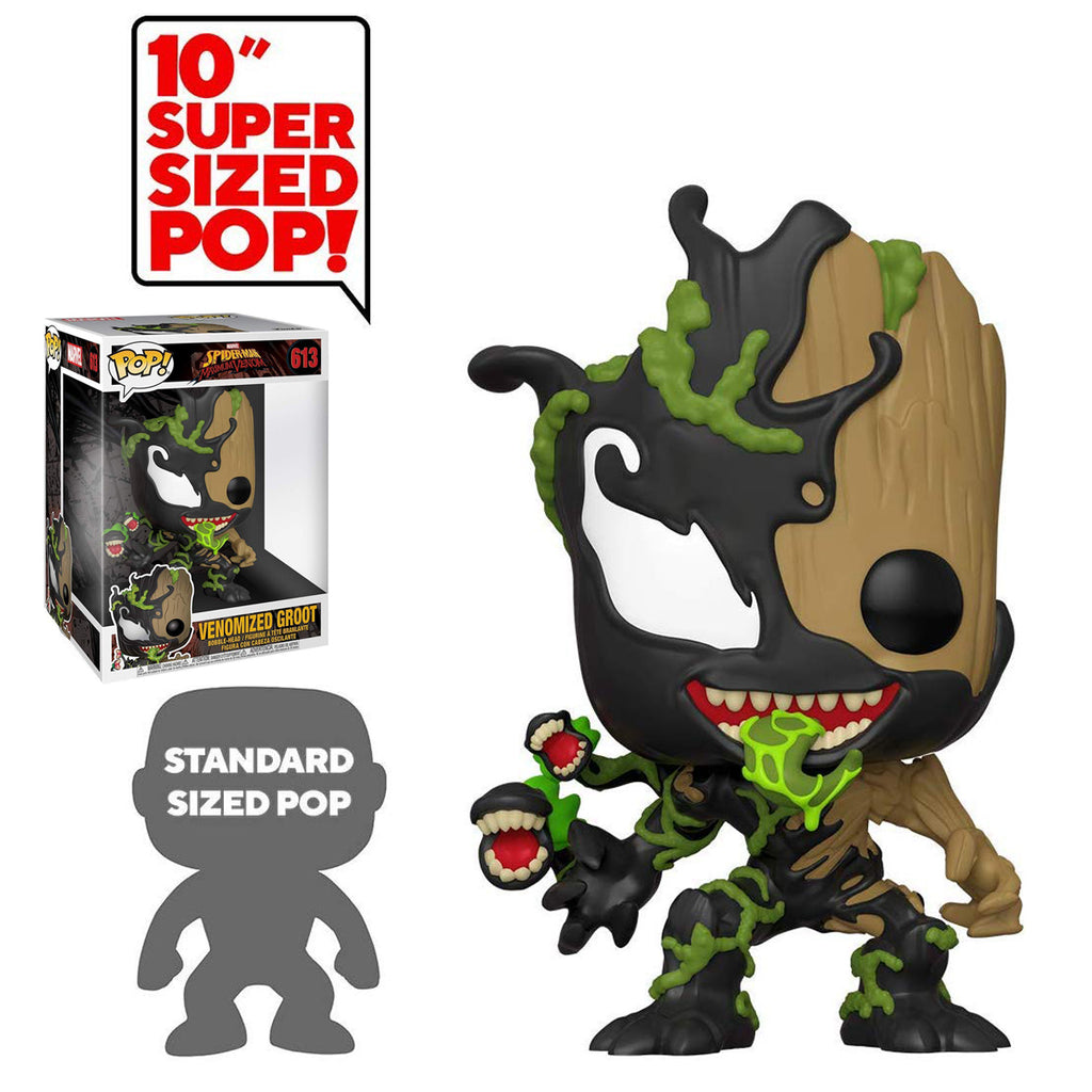 "Funko Pop! Marvel #613: Venomized Groot, 10"" Figure"