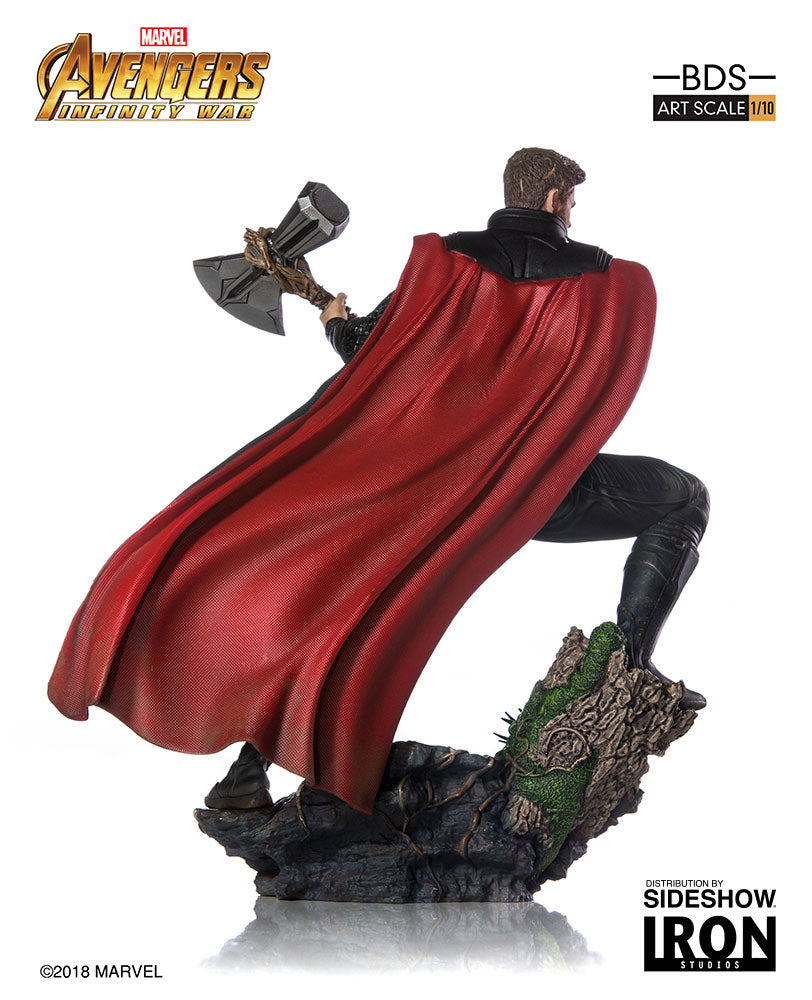 Iron Studios Avengers: Infinity War Thor Art Scale 1:10 Battle Diorama