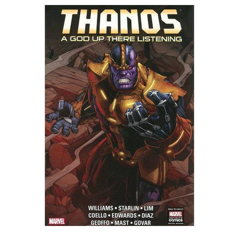 Thanos: A God Up There Listening - Hardcover