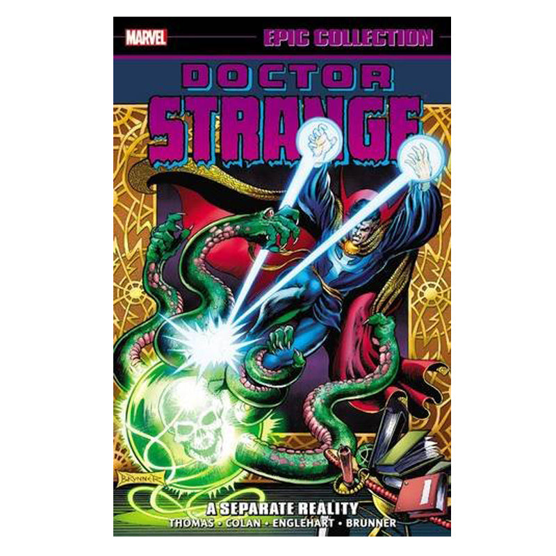 Doctor Strange Epic Collection: A Separate Reality - Paperback