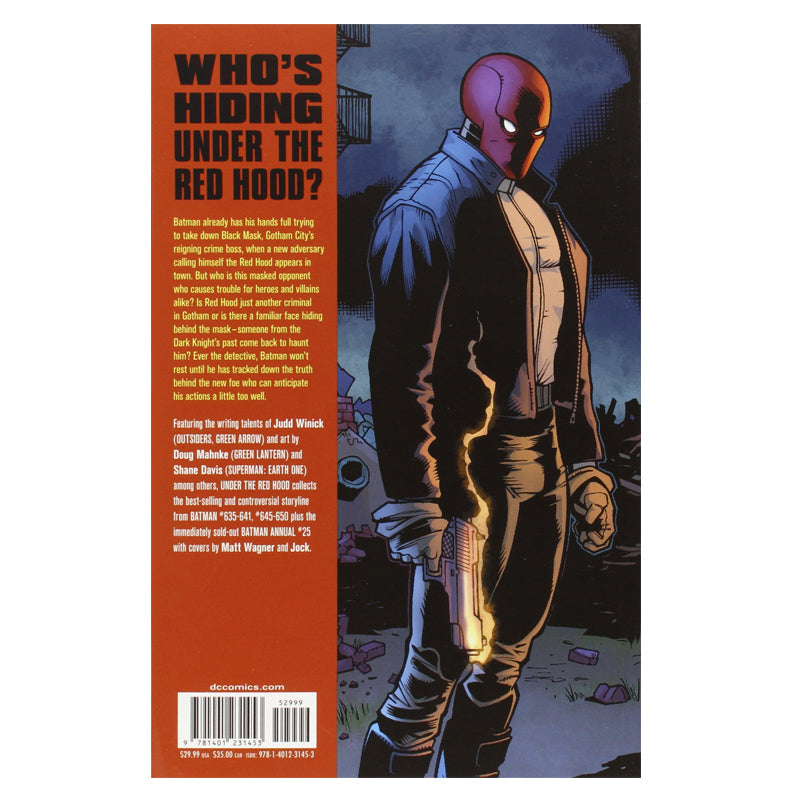 Batman: Under the Red Hood - Paperback