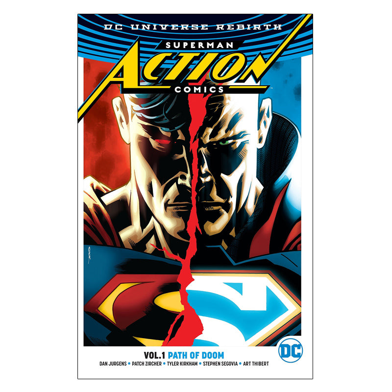 Superman: Action Comics Vol. 1: Path Of Doom (DC Universe Rebirth) - Paperback