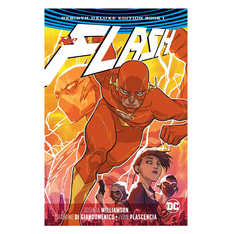 The Flash: The Rebirth Deluxe Edition Book 1 (DC Universe Rebirth) - Hardcover