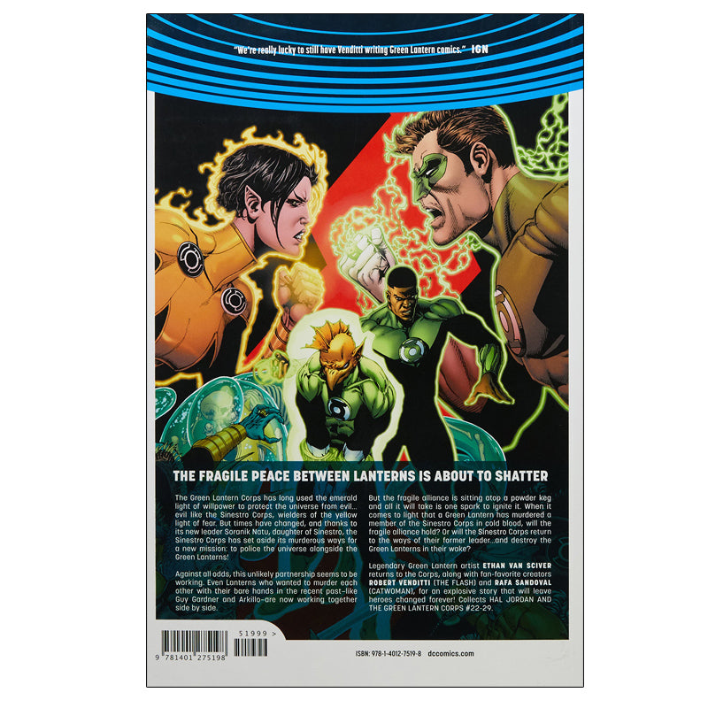 Hal Jordan and the Green Lantern Corps Vol. 4: Fracture (DC Universe Rebirth) - Paperback
