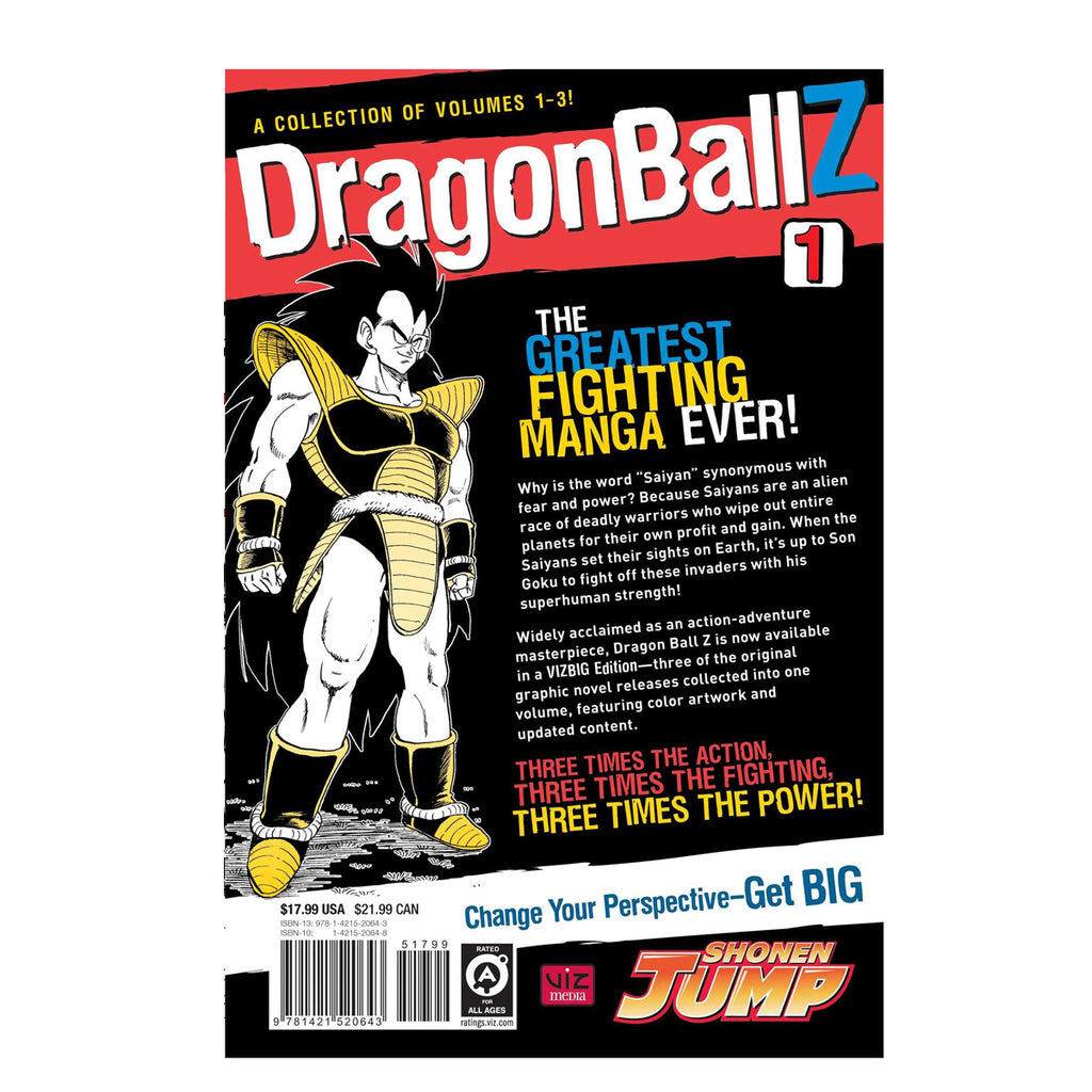 Dragon Ball Z, Vol. 1 (VIZBIG Edition) Paperback