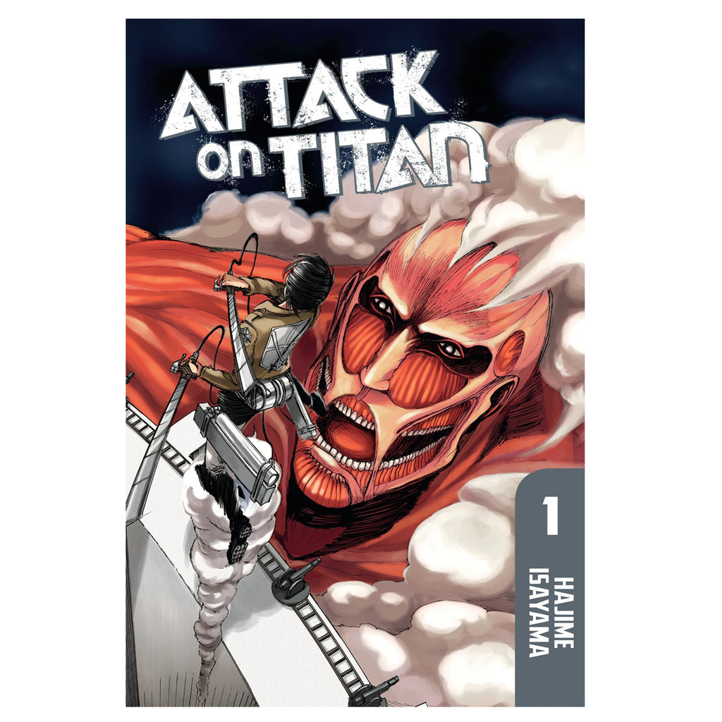Attack on Titan, Manga vol 1 Paperback