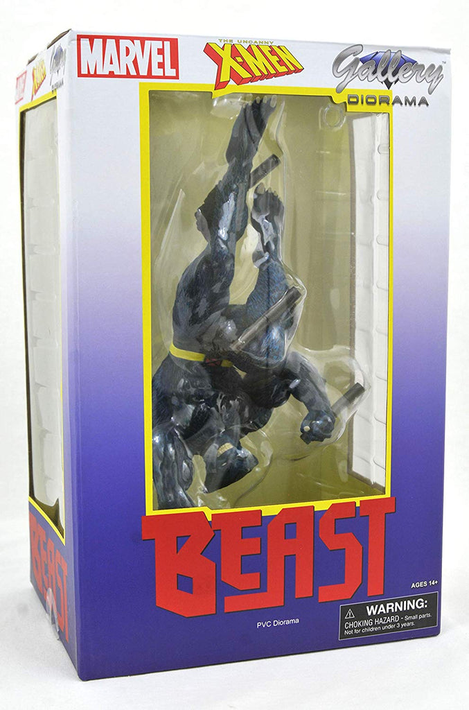 DIAMOND SELECT TOYS Marvel Gallery: Beast PVC Figure