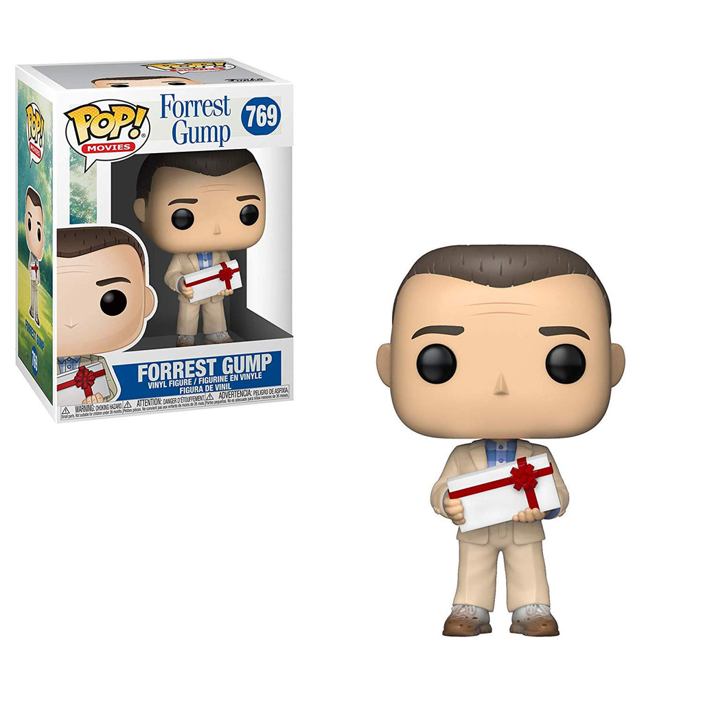 Funko Pop! Movies: Forrest Gump - Forrest with Chocolates Collectible Figure, Standard, Multicolor