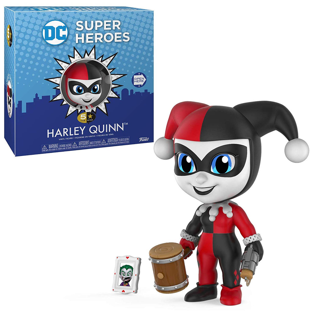 Funko 5 Star -DC: Super Heroes - Harley Quinn  Toy, Multicolor