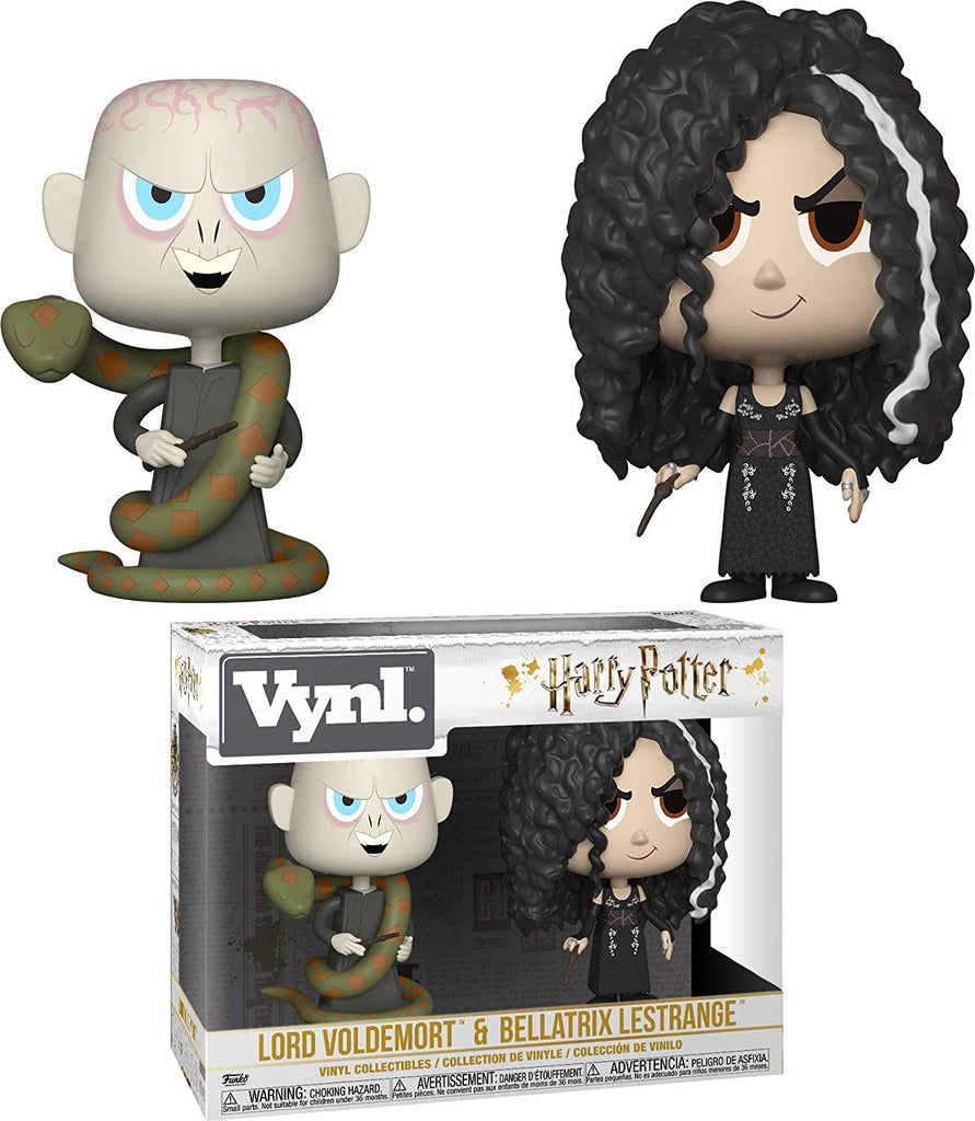 Funko Vynl: Harry Potter - Bellatrix & Voldemort