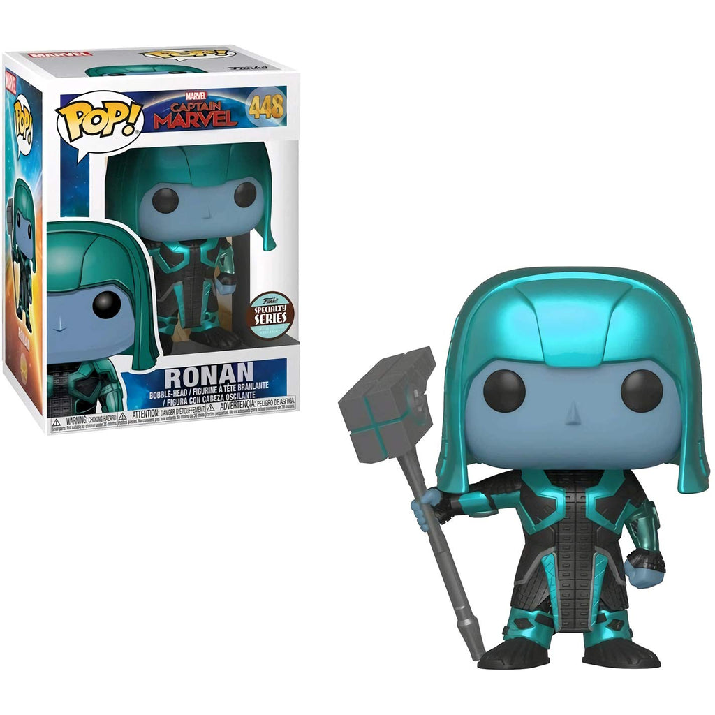 Funko POP! Movies: Captain Marvel - Ronan (Chase)