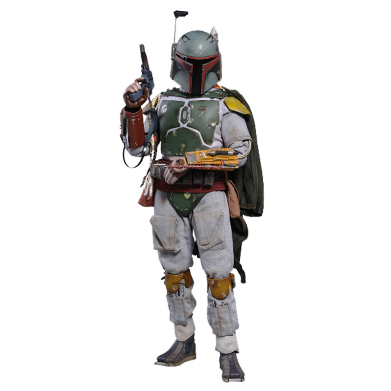 Boba Fett Deluxe Version Episode V: The Empire Strikes Back - Movie Masterpiece Series - Sixth Scale Figure