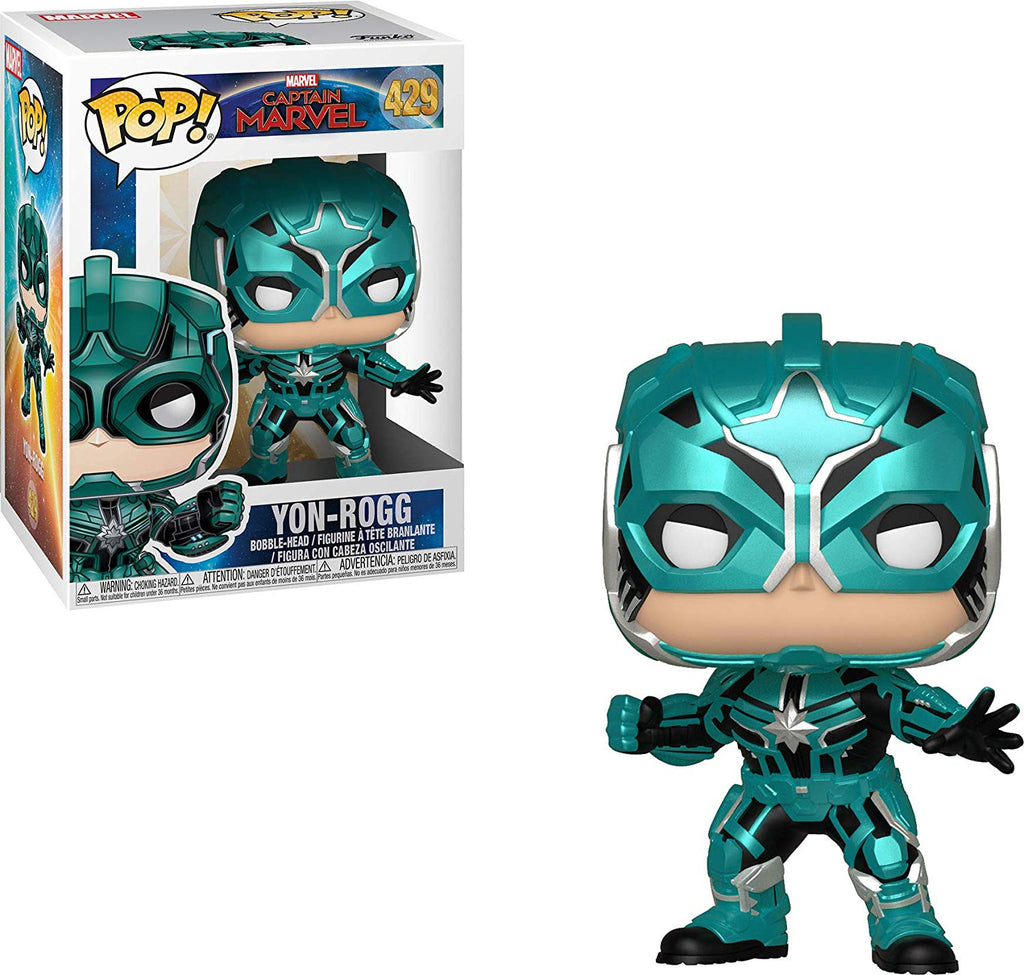 Funko Pop! Marvel: Captain Marvel - Yon Rogg Collectible Figure, Standard, Multicolor