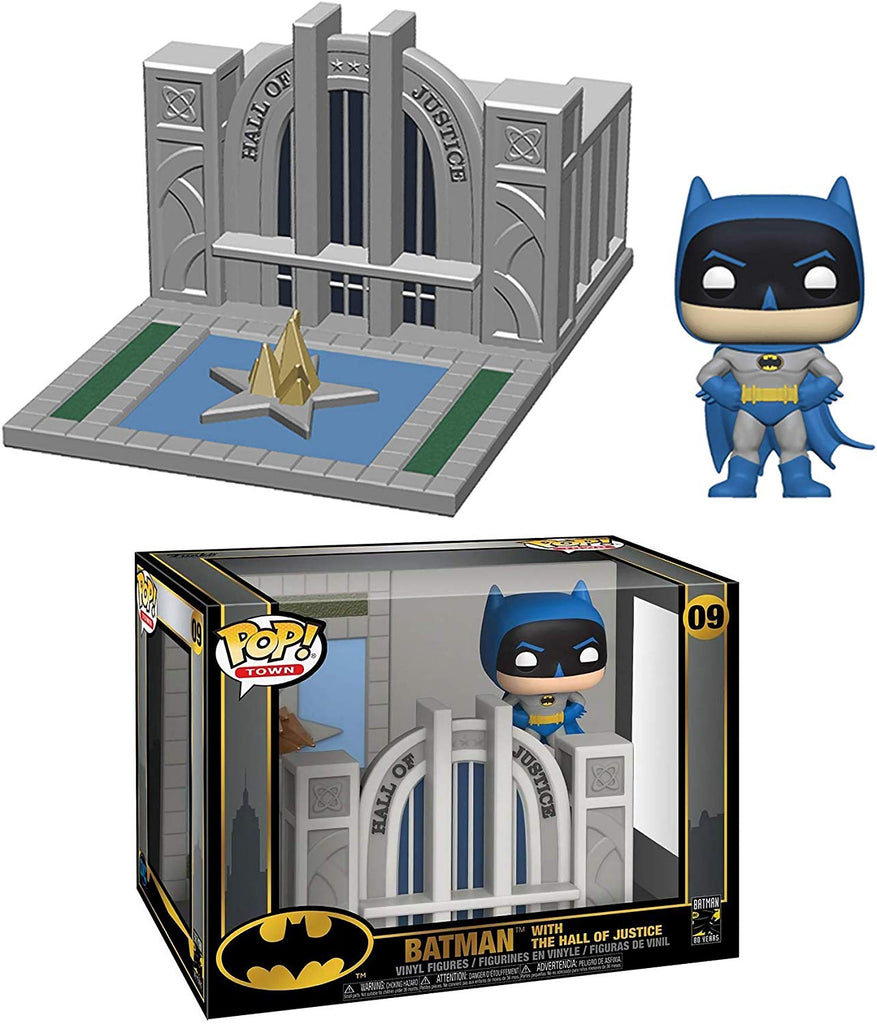Funko Pop! Town: Batman - Batman with Hall of Justice