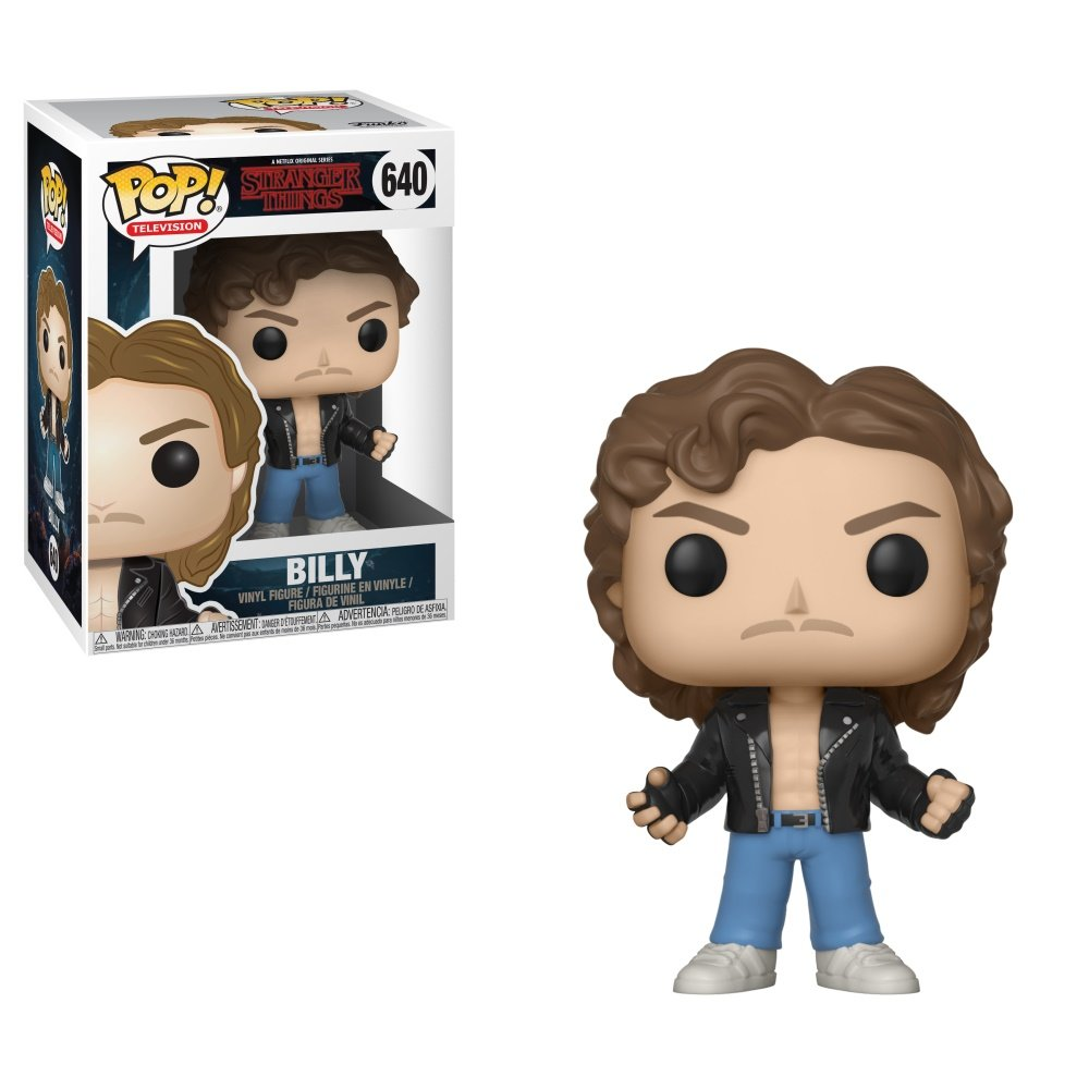 Funko POP! Television: Stranger Thingsl - Billy at Halloween Toy Collectible Figure, Standard, Multicolor