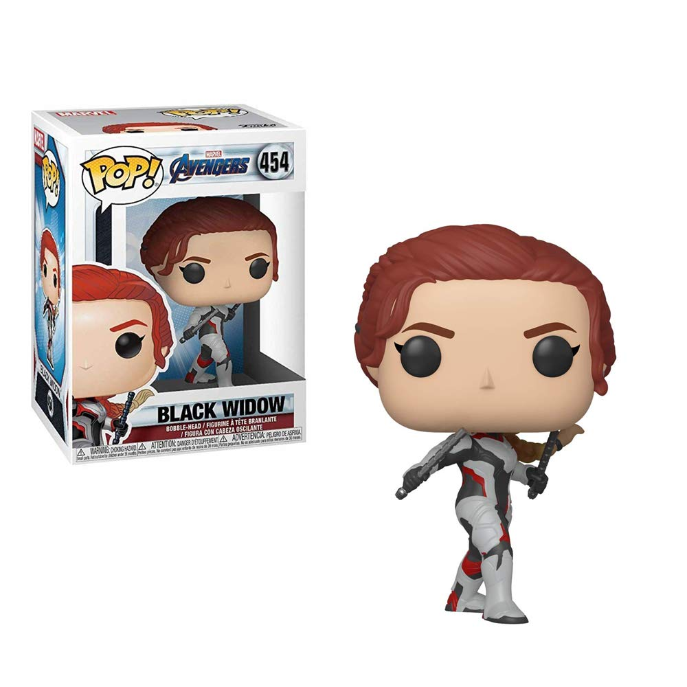 Funko Pop! Marvel: Avengers Endgame - Black Widow Collectible Figure, Standard, Multicolor