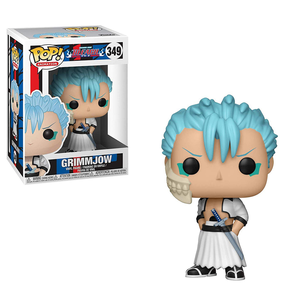 Funko Pop! Anime: Bleach - Grimmjow Toy Collectible Figure, Standard, Multicolor