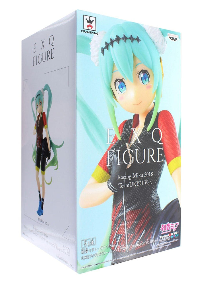 Banpresto Exq Figure: Hatsune Racing Miku 2018 Team Ukyo Version